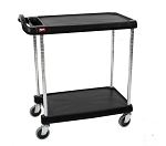 Metro® MY1627-24BL - MYCART 2 SHELF BLACK 16x27