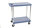 Metro® MY1627-24BU - MYCART 2 SHELF BLUE - MICROBAN 16x27