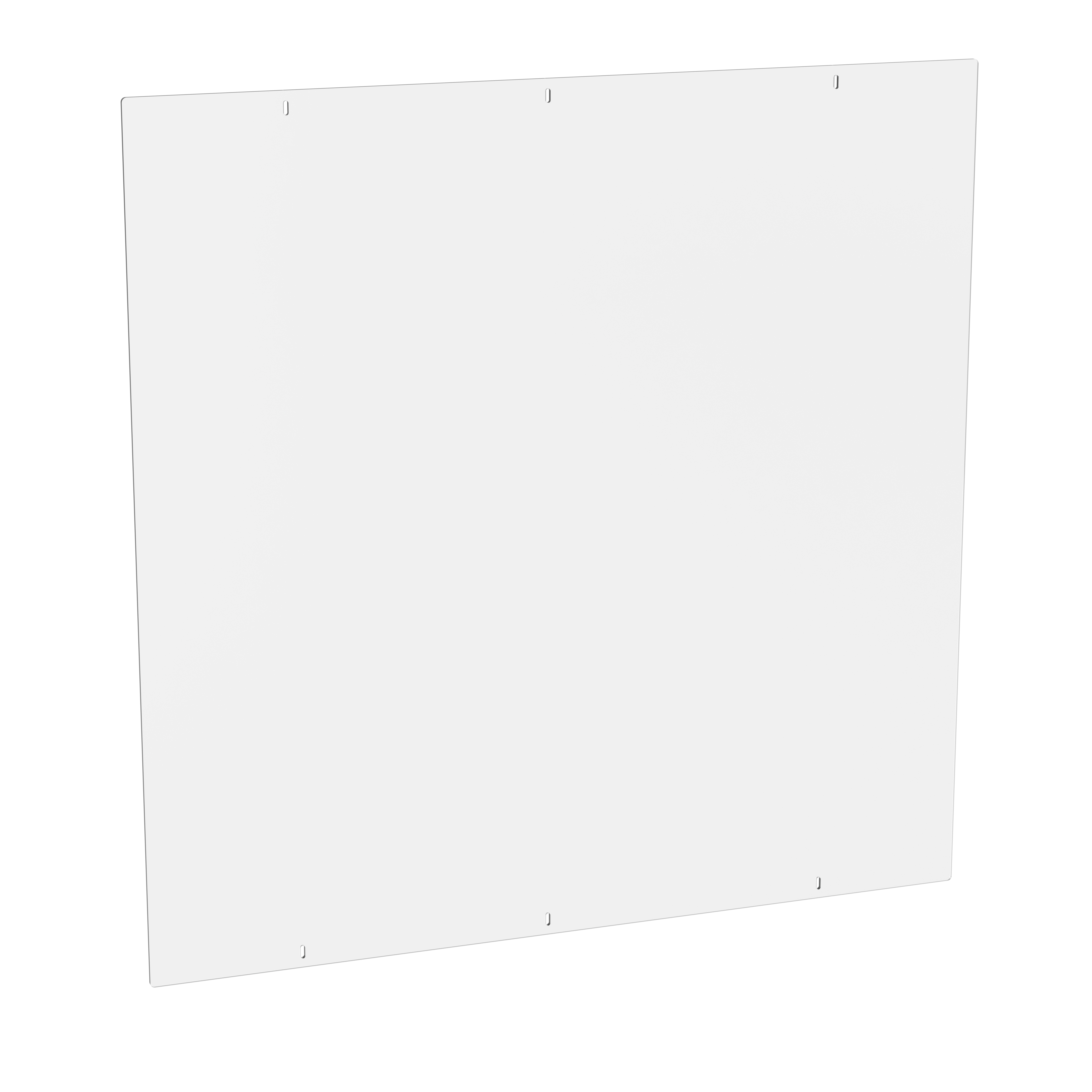 Metro SH4548PVC 3mm Thick Clear Polymer Panel, 45