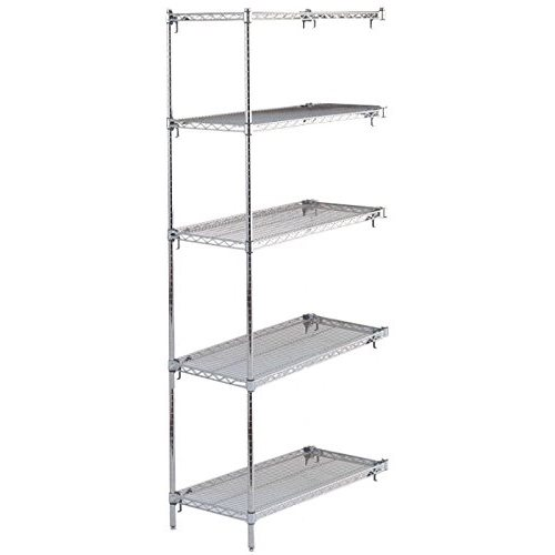 metro 5aa527c sase add on shelving unit 5 wire shelves 2 posts rh atlanticshelving com add shelves to armoire add doors on shelves