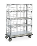 Metro® LXH56C - HD LINEN TRANSPORT CART