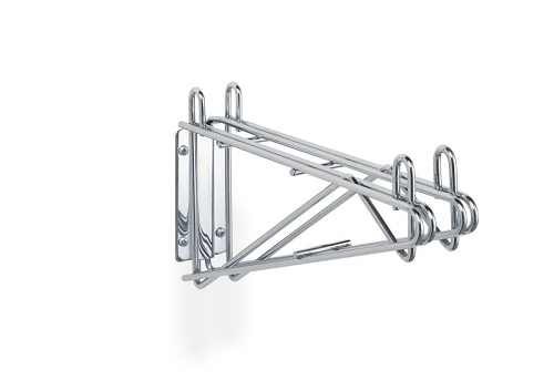 Metro® 2WD18K3 - Super Erecta® Direct Wall Mount, double, for 18