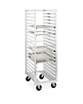 Metro® RD23N - Tray Rack, mobile, end load, single section, pass-thru, 21-1/2