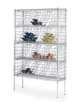 Metro® WB237C - Super Erecta® Bulk Storage Wine Shelving, 74-3/4