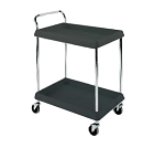 Metro® BC2030-2DBL - BC Series Deep Ledge Utility Cart, 2-shelves, open base, shelf size 21-1/2