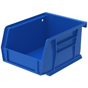 AkroBin 5-3/8 x 4-1/8 x 3, Blue (30210BLUE).  This item sold in carton quantities of 24.