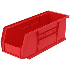 AkroBin 10-7/8 x 4-1/8 x 4, Red (30224RED).  This item sold in carton quantities of 12.