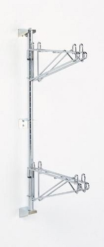 Mid Unit Kit consists of one post with brackets and double support for each shelf.