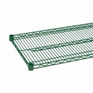 Olympic J1836K - 18x36  Wire Shelf Green Epoxy