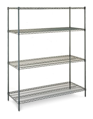 "24x36x63""H unit stationary 4 Tier Olympic J243663-4S"